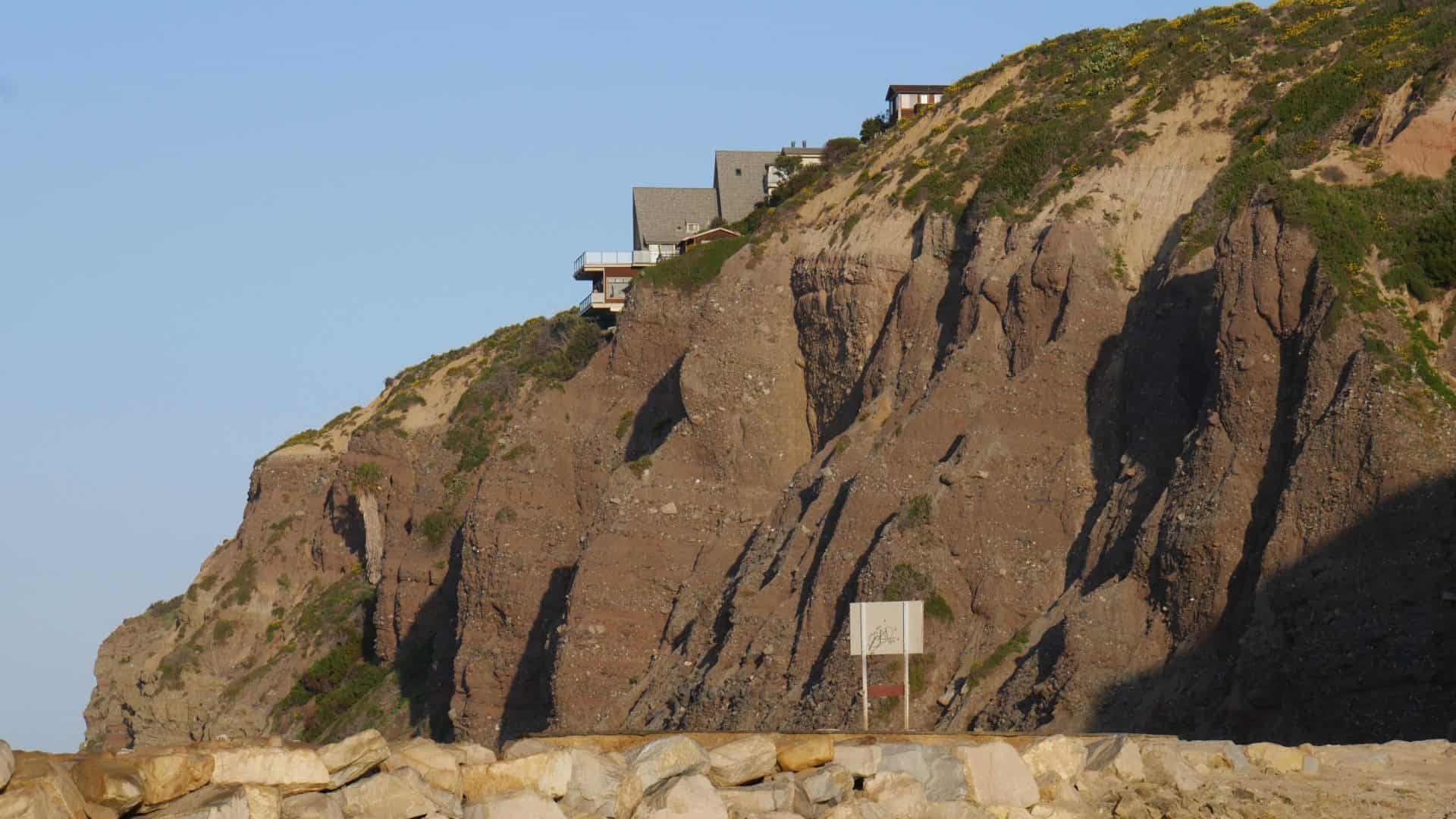 House on the cliff at Dana Point