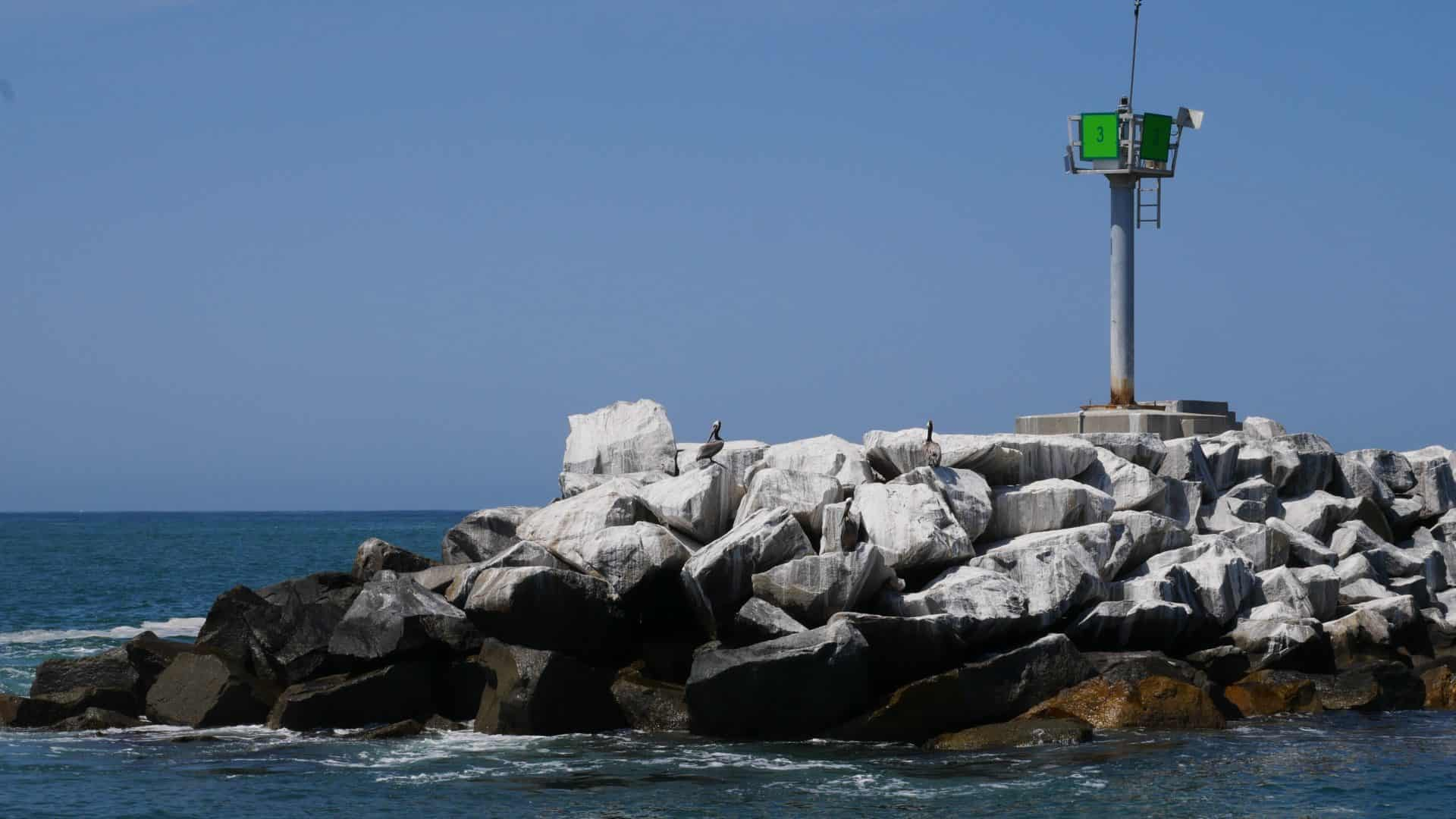 Pelican rock at day marker 3