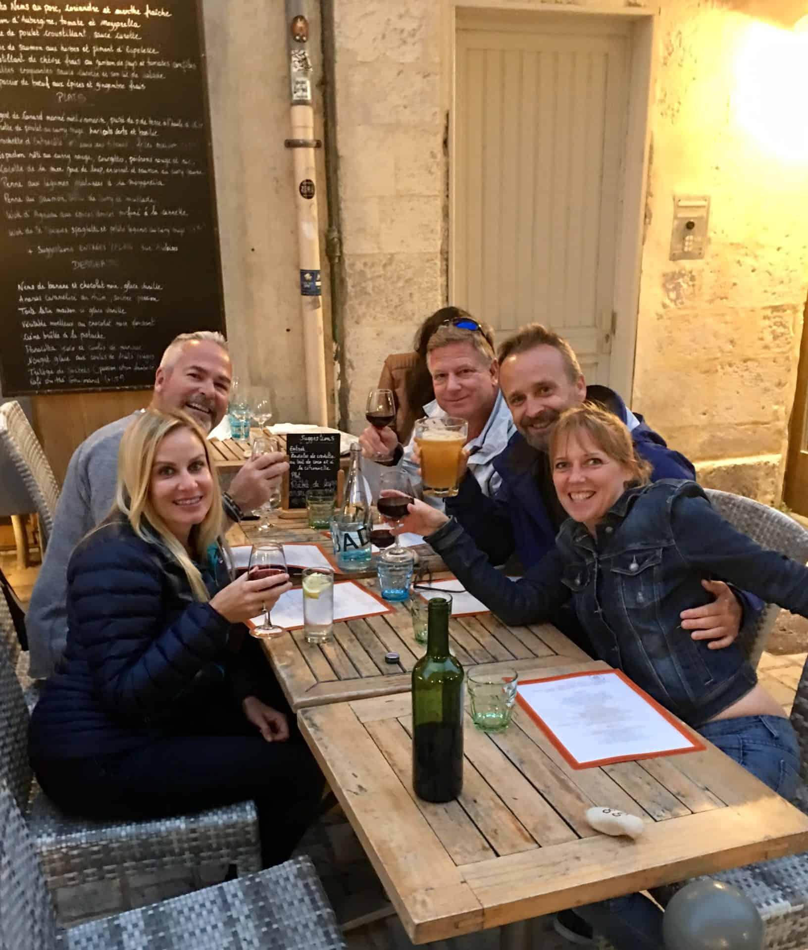 France gang dinner