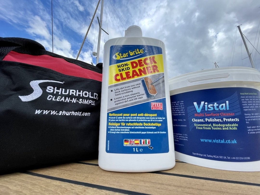 Cleaning & Maintenance products for Sea Odyssey