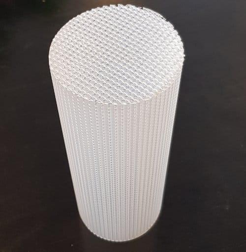 Grid tube with closure / Grid tube with closure (92mm)