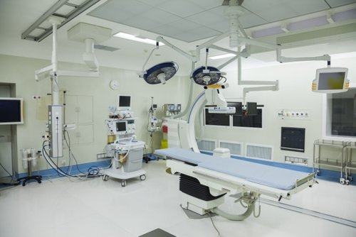 Lucht laminatie van operatiekamers