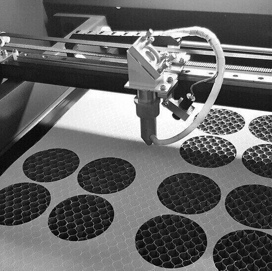Laser cut mesh