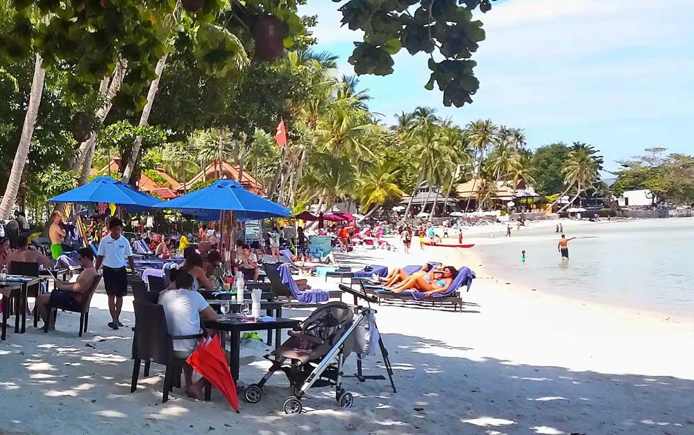 Chaweng Beach in Koh Samui