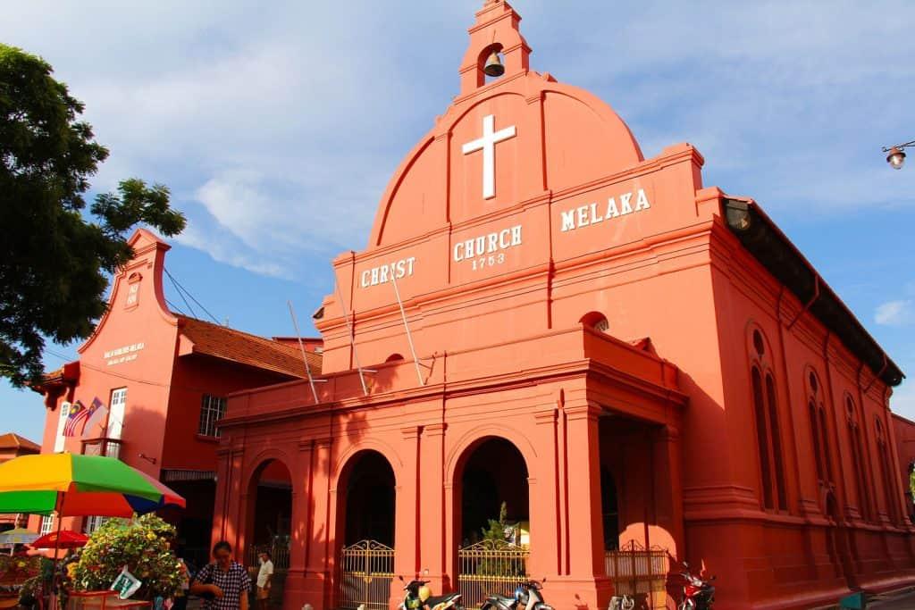 Christ Church in Dutch Square, Melaka