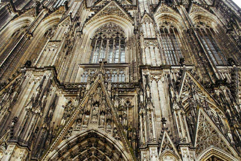 Close-up of Cologne Cathedral
