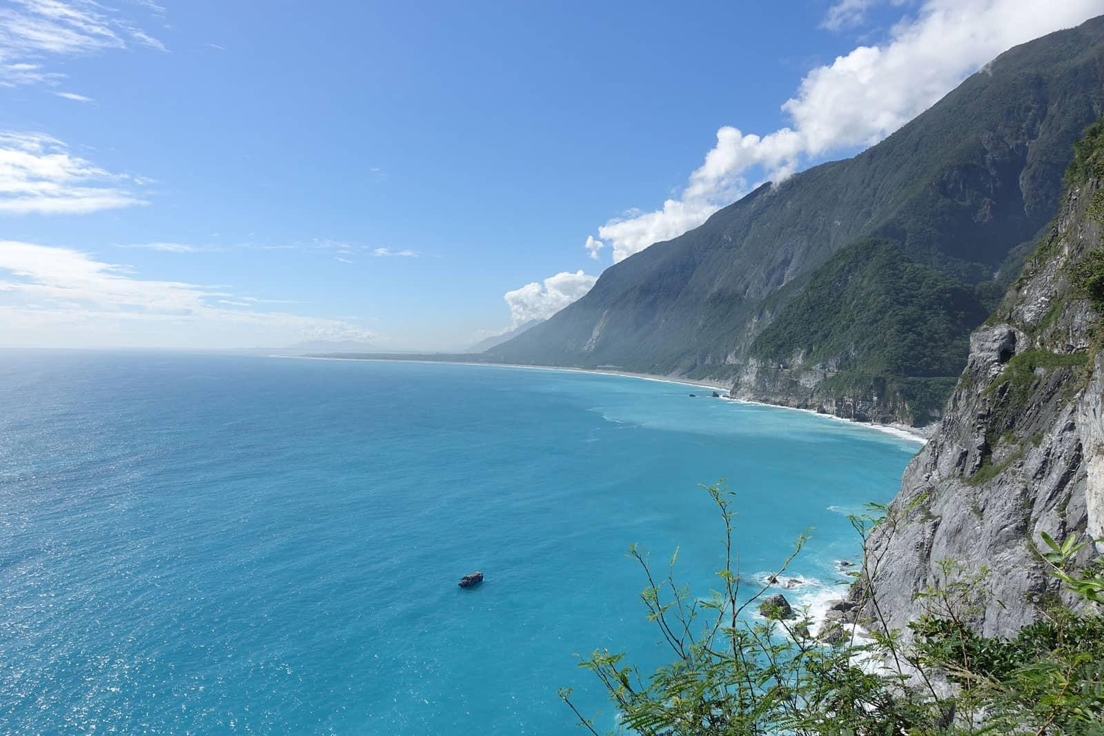 Coastline near Hualien