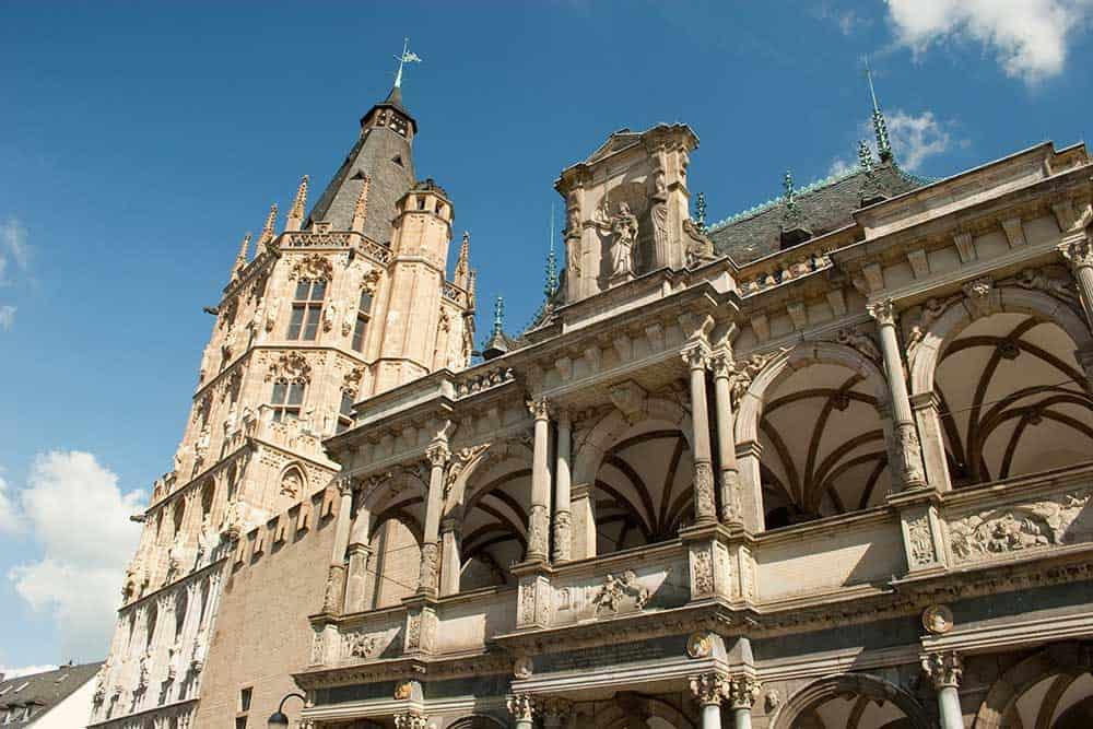 Cologne City Hall Rathaus