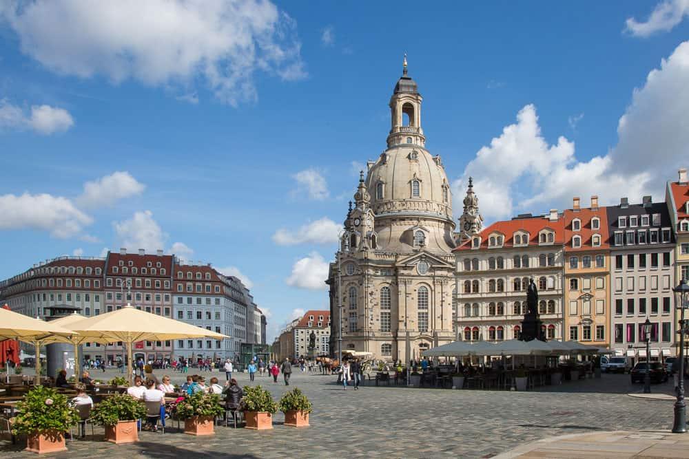 Neumarkt & Frauenkirche