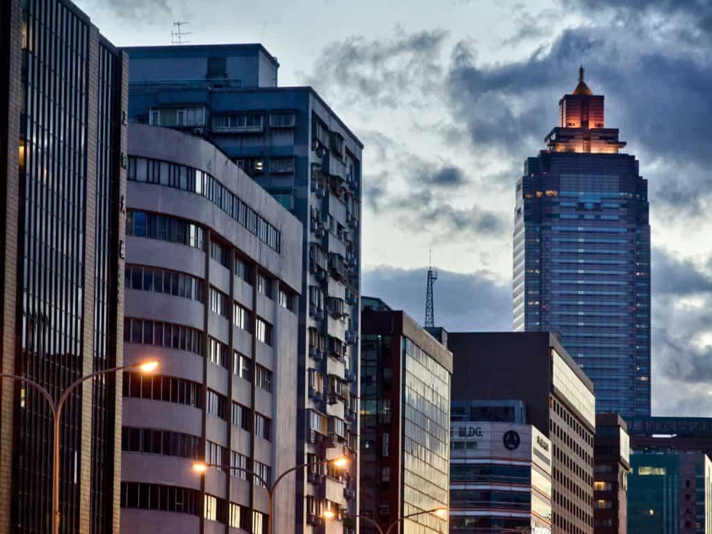 Evening in Taipei