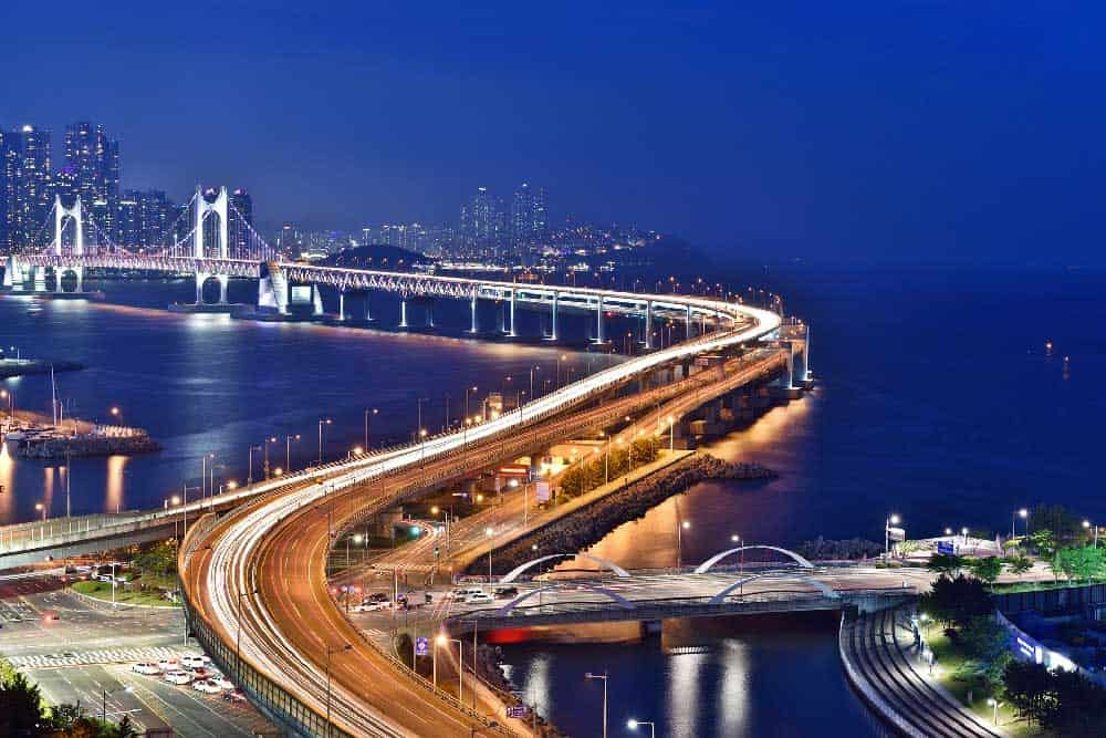 Evening @ Gwangandaegyo Bridge