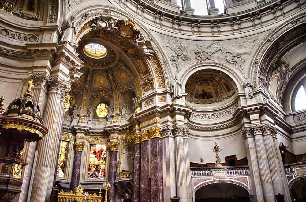 Inside the Berliner Dom