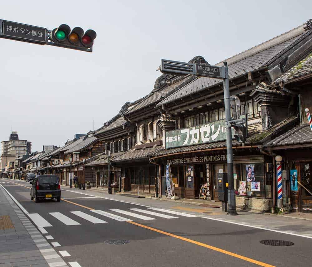 Kurazukuri in Kawagoe
