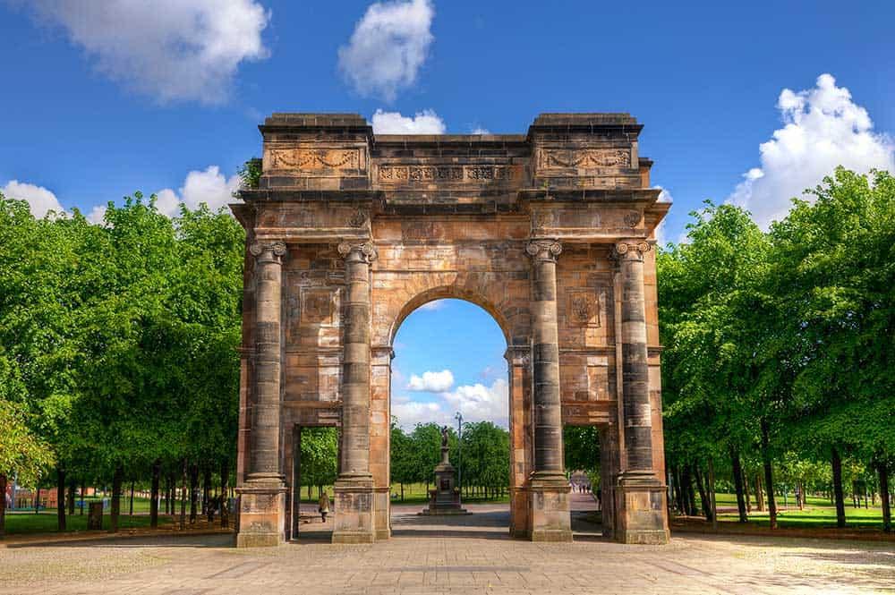 McLennan Arch Glasgow Green