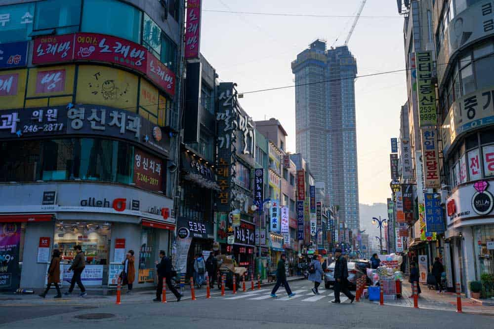 Nampo-dong Street