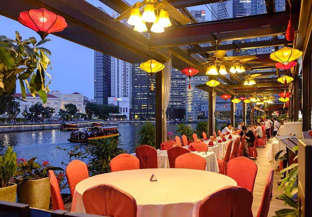Restaurant in Clarke Quay