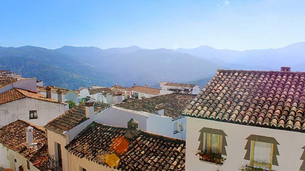Rooftops in Ronda