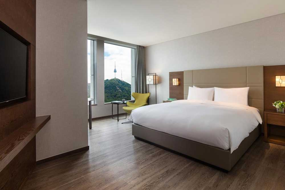 Room @ Courtyard by Marriott Seoul Namdaemun in Seoul, South Korea