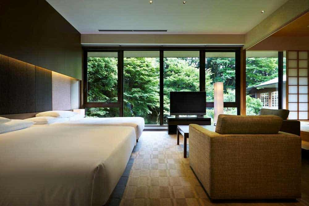 Room @ Hyatt Regency Kyoto in Kyoto, Japan