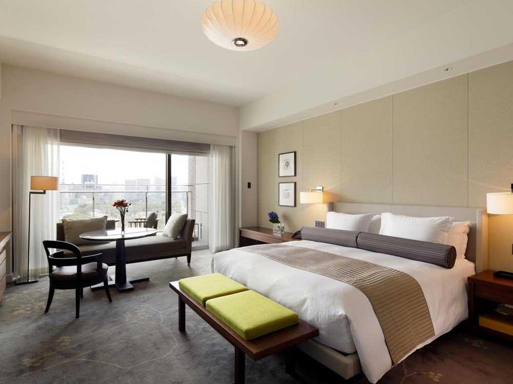 Room @ Palace Hotel Tokyo in Tokyo, Japan