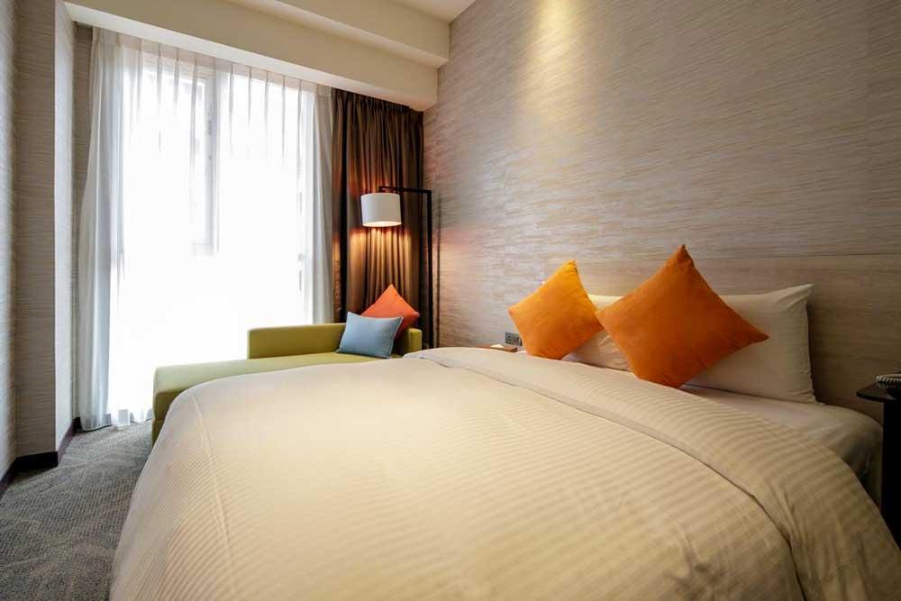 Room at Via Hotel Taipei Station in Taipei, Taiwan