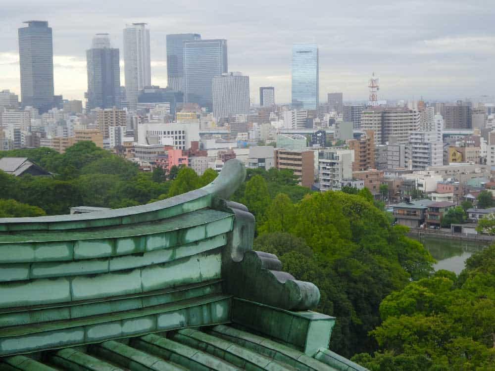 Skyline of Nagoya, Japan