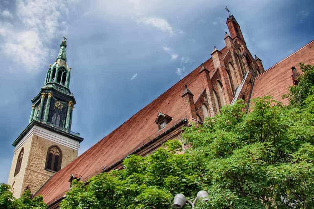 St Mary's Church in Berlin, Germany