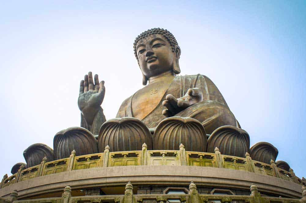 Tian Tan Buddha on Lantau Island
