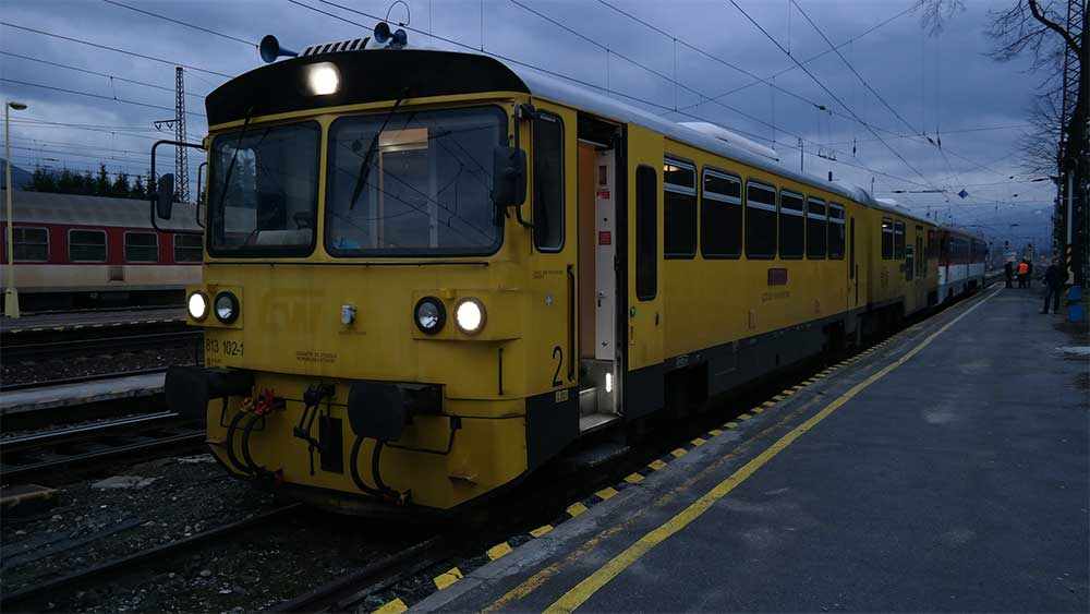 Slovak Railways Train