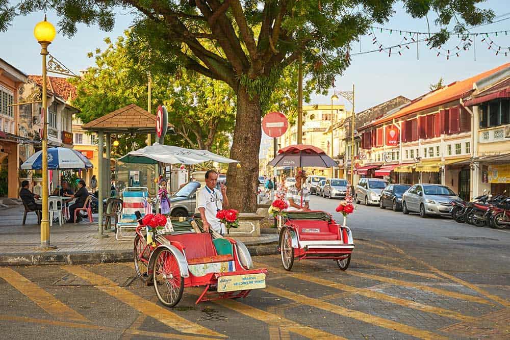 Trishaw in George Town