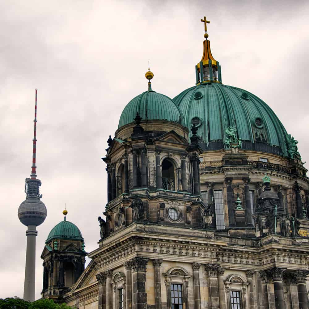TV Tower and Berliner Dom