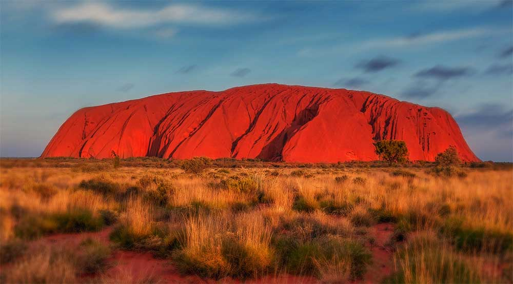 Uluru (Ayer's Rock) in Australia