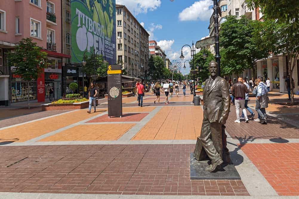 Vitosha Boulevard in Sofia