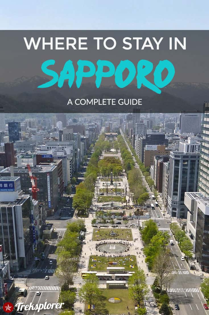 Can't decide where to stay in Sapporo, Japan? Make your decision easier with this guide to the best places to stay in Sapporo including the best neighborhoods, areas & hotels! #Sapporo #Japan#hotels #accommodations