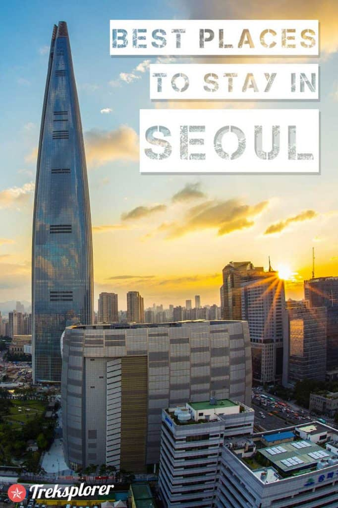 Deciding where to stay in Seoul? Get help with this complete guide to the best places to stay in Seoul including a summary of the best areas, neighbourhoods, and best hotels in Seoul. #seoul #korea #accommodations