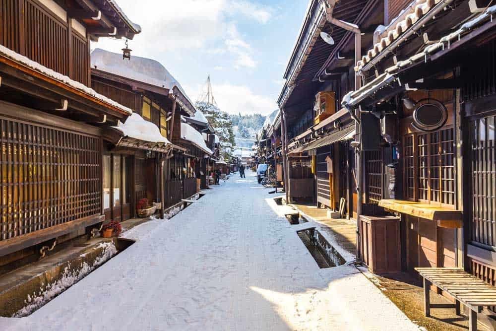 Winter in Takayama, Japan