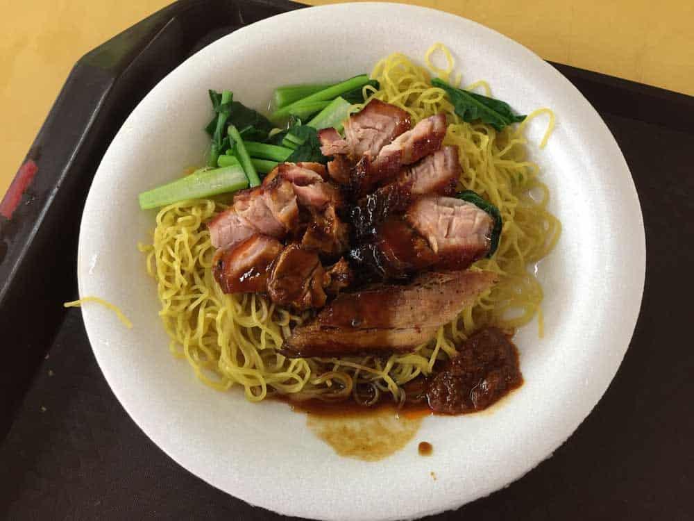 Wonton Noodles @ Chinatown Food Centre