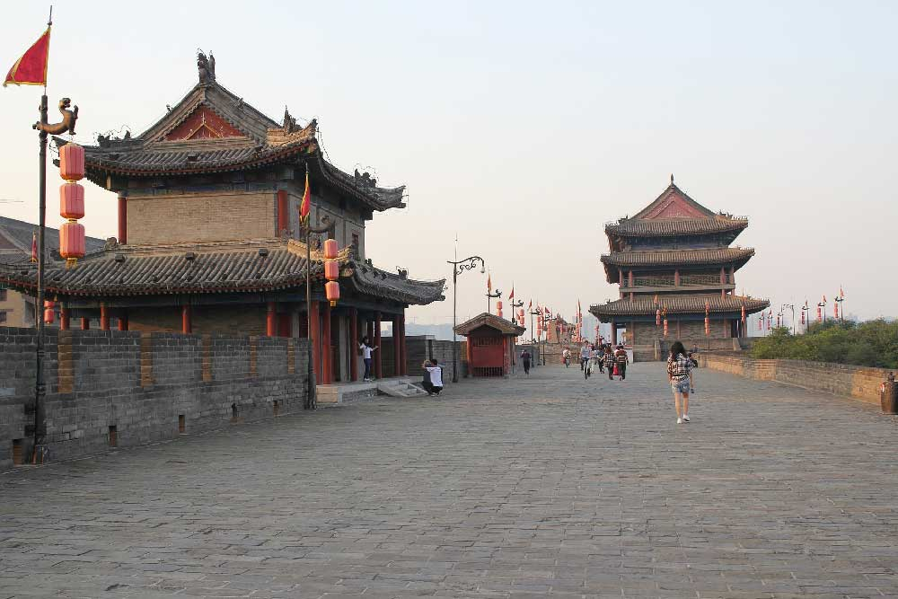 Xi'an City Wall in Xi'an, China