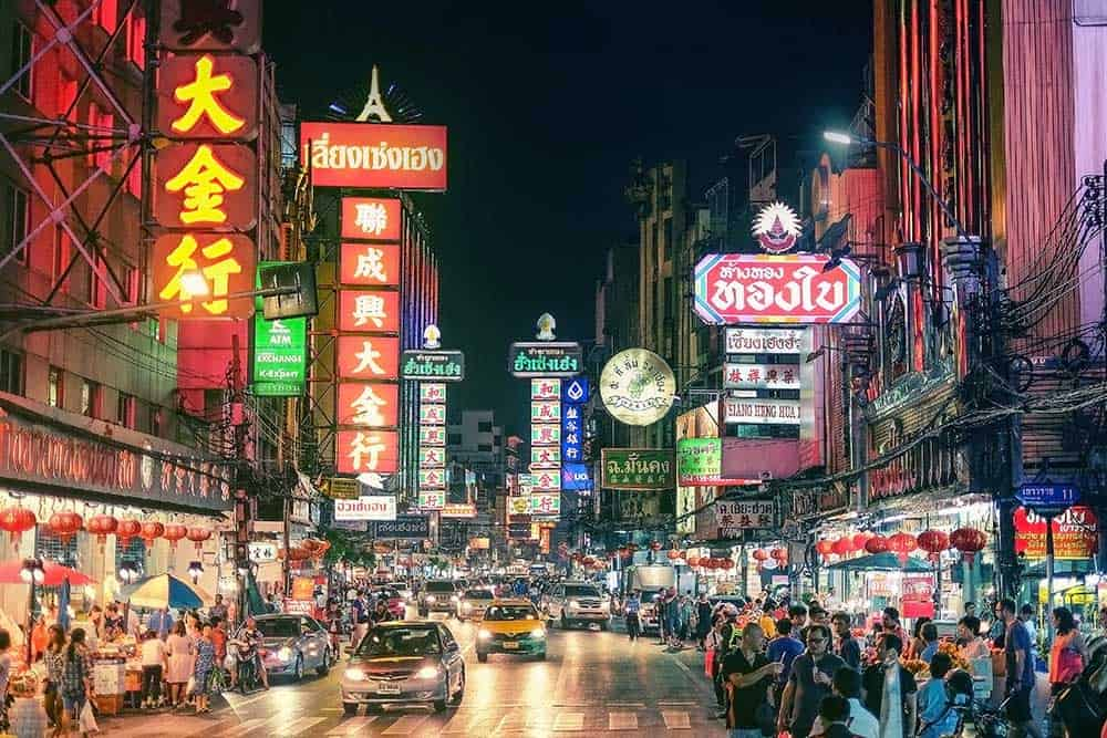 Yaowarat Road Chinatown