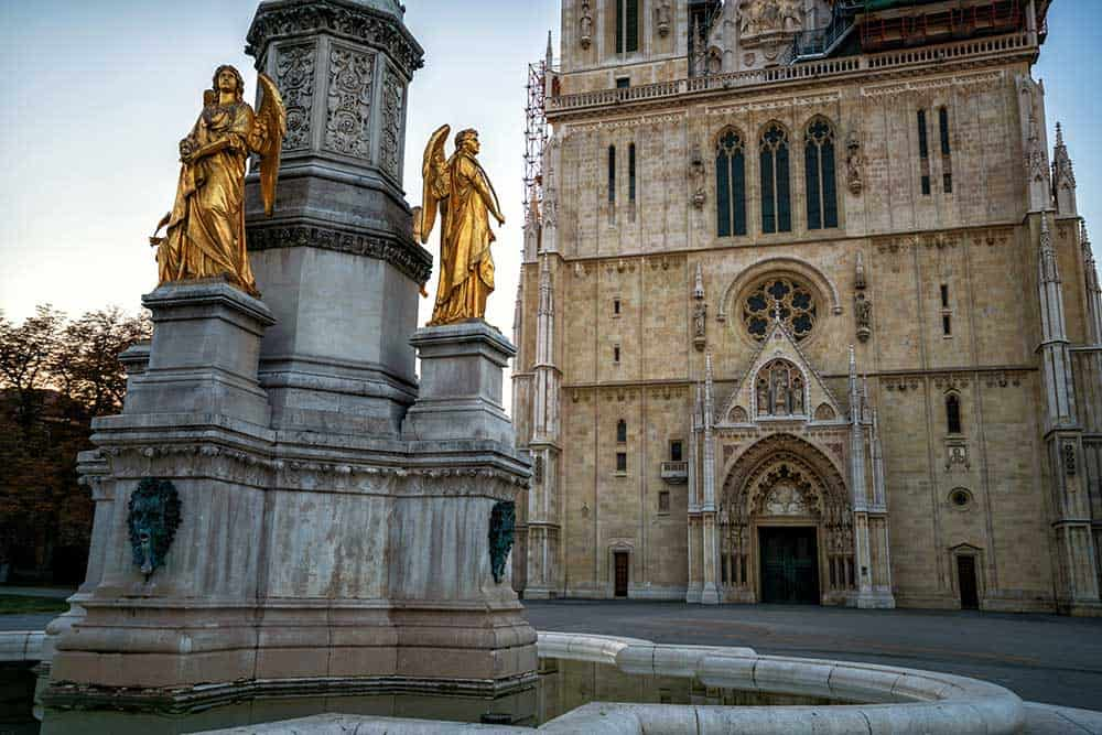 Zagreb Cathedral in Kaptol