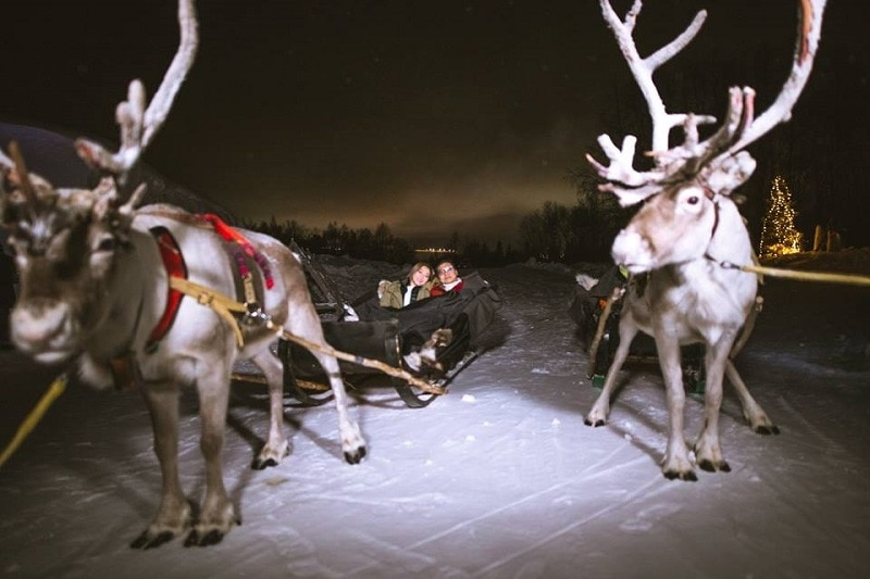 Lapland Wedding at Luvattumaa Levi Ice Castle & Hotel - To find out more visit Weddings Abroad Guide