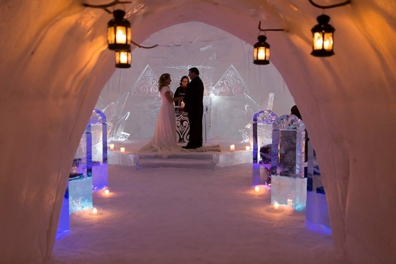 Lapland Wedding Venue & Wedding Planner - Luvattumaa Levi Ice Castle - member of the Destination Wedding Directory by Weddings Abroad Guide