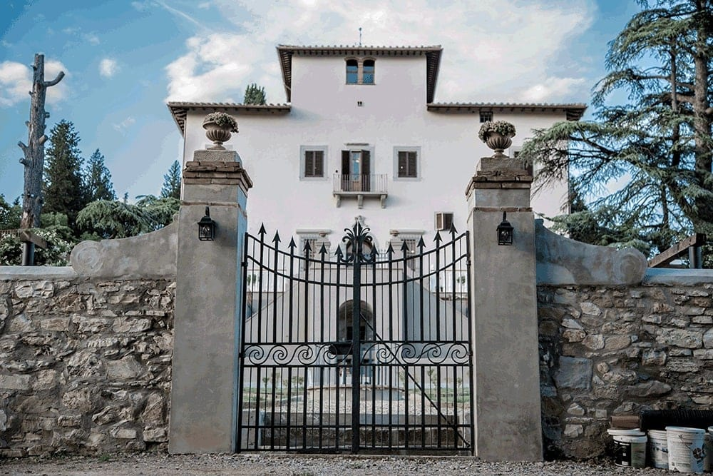 Villla D'Arte Agri Resort Wedding Venue near Florence, Tuscany Italy