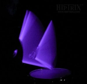 Hiptix Purple Glow In The Dark