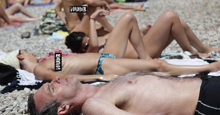 Nudity culture shock: nude beach in Marseille France