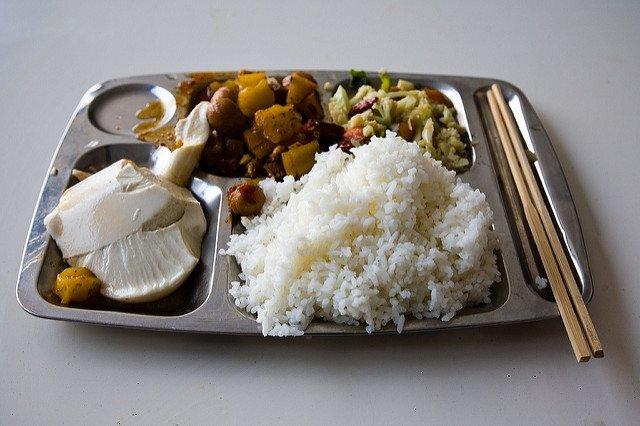 School lunches around the world; China