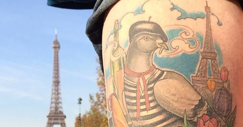 25 Fabulous French Tattoos: Ideas For Men And Women