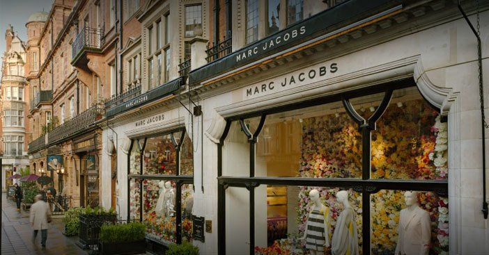 Mount Street-shopping in London UK