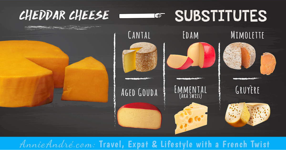 Cheddar Cheese substitutes: Cheeses you can use in place of Cheddar