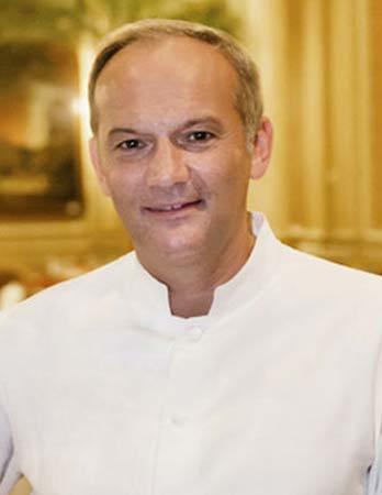 Christian Le Squer, le cinq 3 Michelin star restaurant Paris